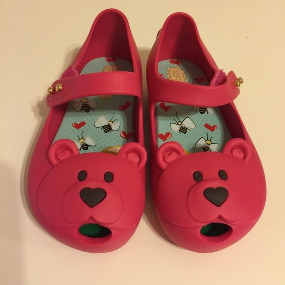 Mini Melissa - ultra Bear Mary Jane size 7 100% Authentic and Brand New Mini Melissa Ultra Bear Mary Jane in size 7 Mini Melissa Shoes Flats & Loafers