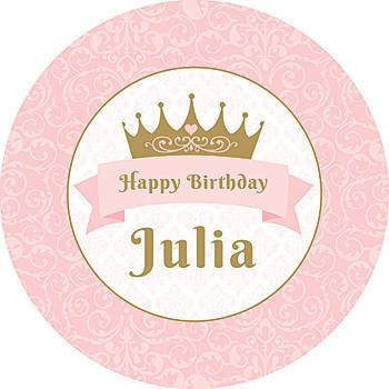 Pink Provincial Princess Stickers Shindigz Princess Party Board Stickers Cumplea 241 Os