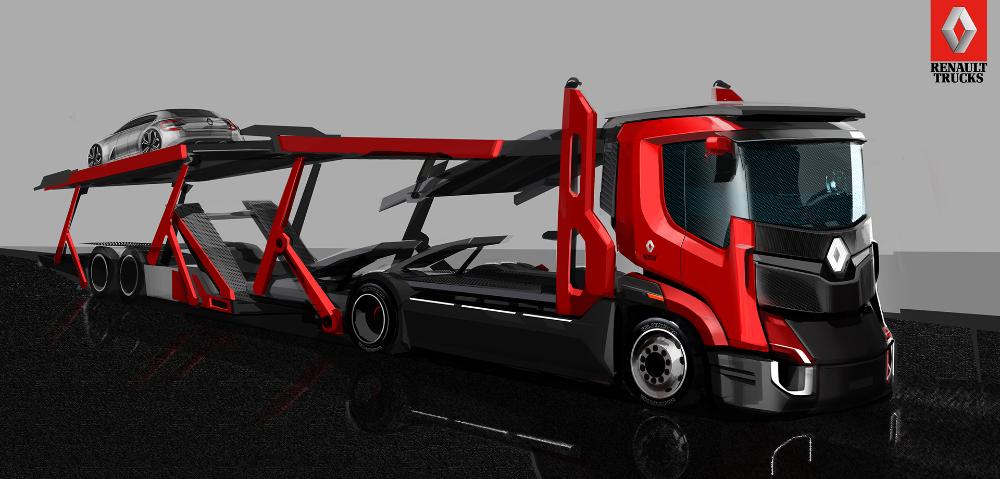 Renault Trucks on Behance in 2020 Trucks, Truck design