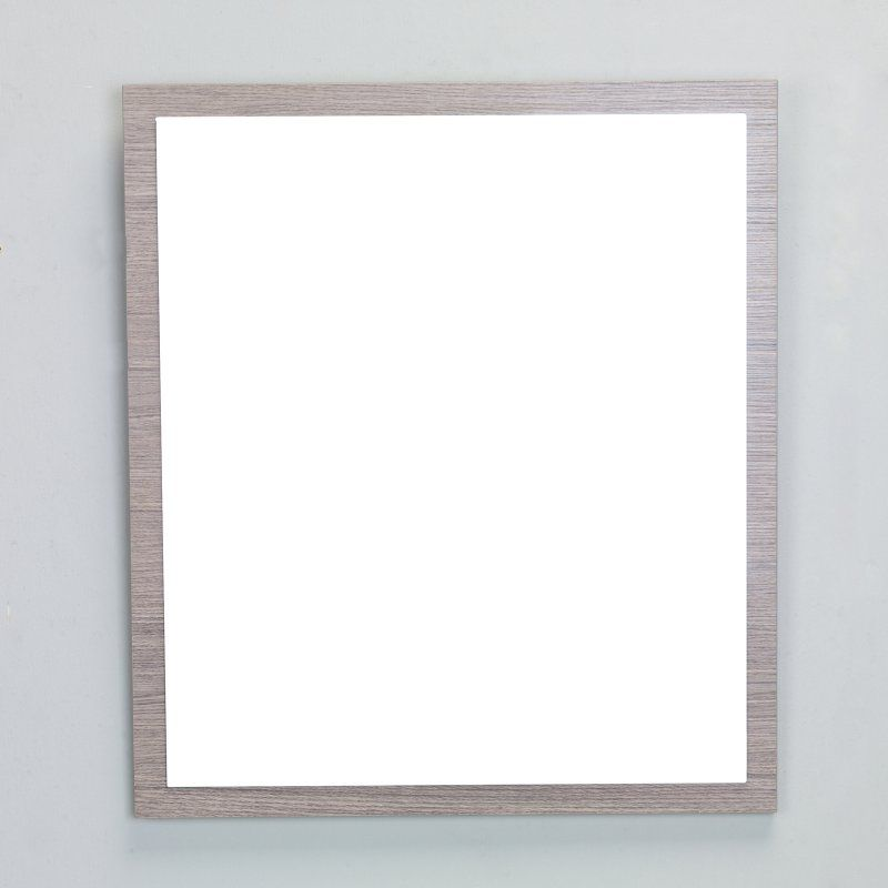 Eviva Reflection Framed Bathroom Wall Mirror Evmr 24mok Spn