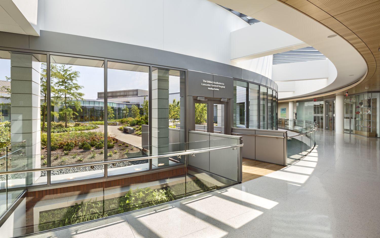 Exterior: Ballinger Interior Design Healthcare : Lancaster General