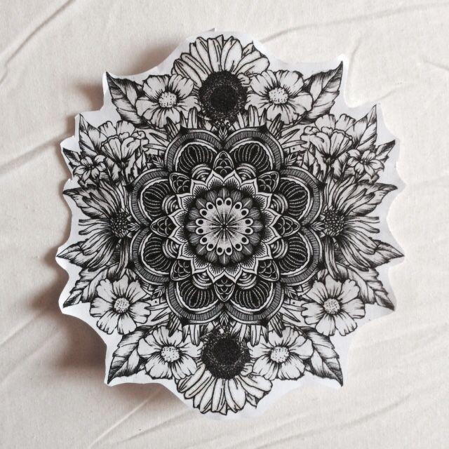 Mandala Flowers Flowersmandala Tattoos And Piercings Mandala