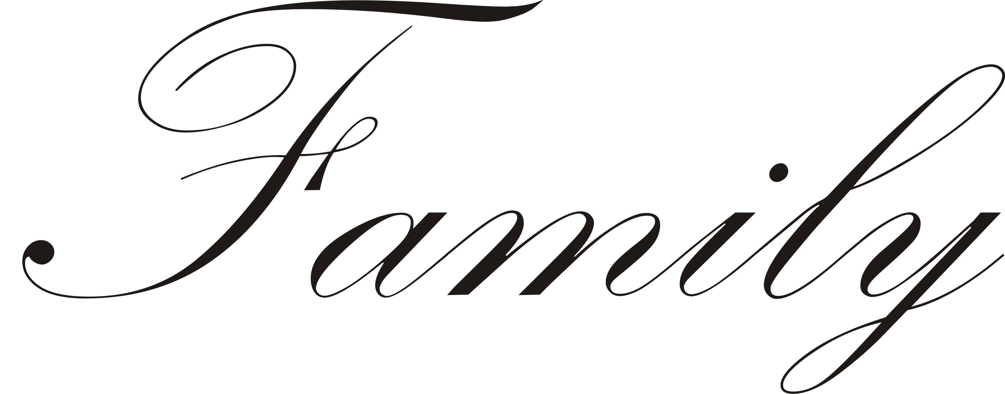 Family Word Tumblr Google Search Tattoo Fonts Cursive Tattoo Fonts Family Word Art