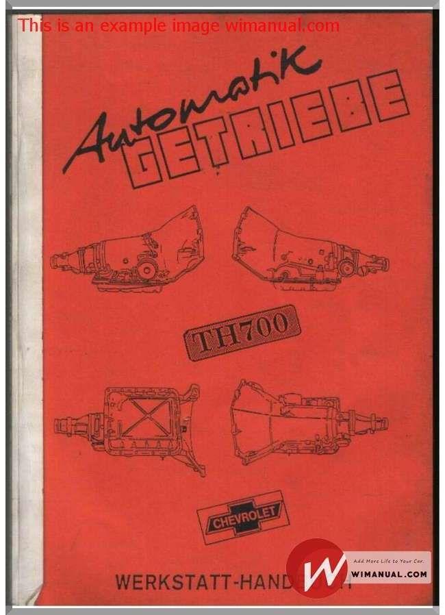 chevrolet camaro repair guide 1982 1992 pdf download this manual rh pinterest com Fujitsu TH700 Drivers Dickson TH700