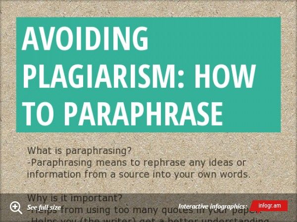 Pin On Crafts Characteristic Of A Paraphrase
