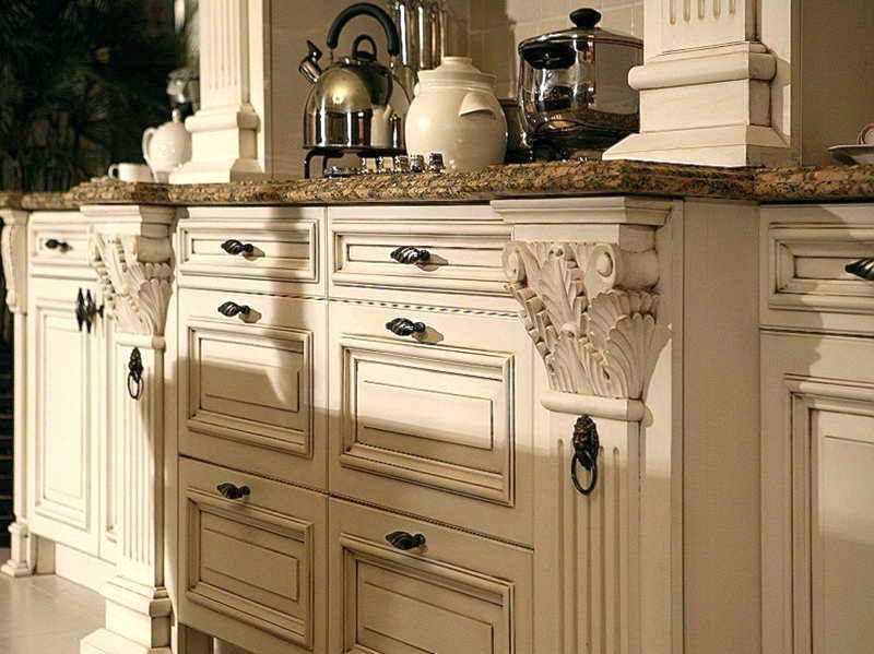 Awesome Distressed Kitchen Cabinets For You | French ...