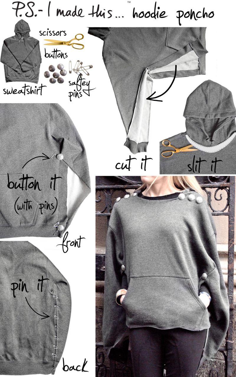 No Sew Sew Diy Fashion Projects Refashion Clothes Diy Clothes [ 1280 x 800 Pixel ]