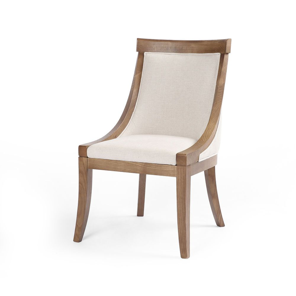 37 5 Set Of Two Contemporary Dining Chair Bespoke Natural 50visc