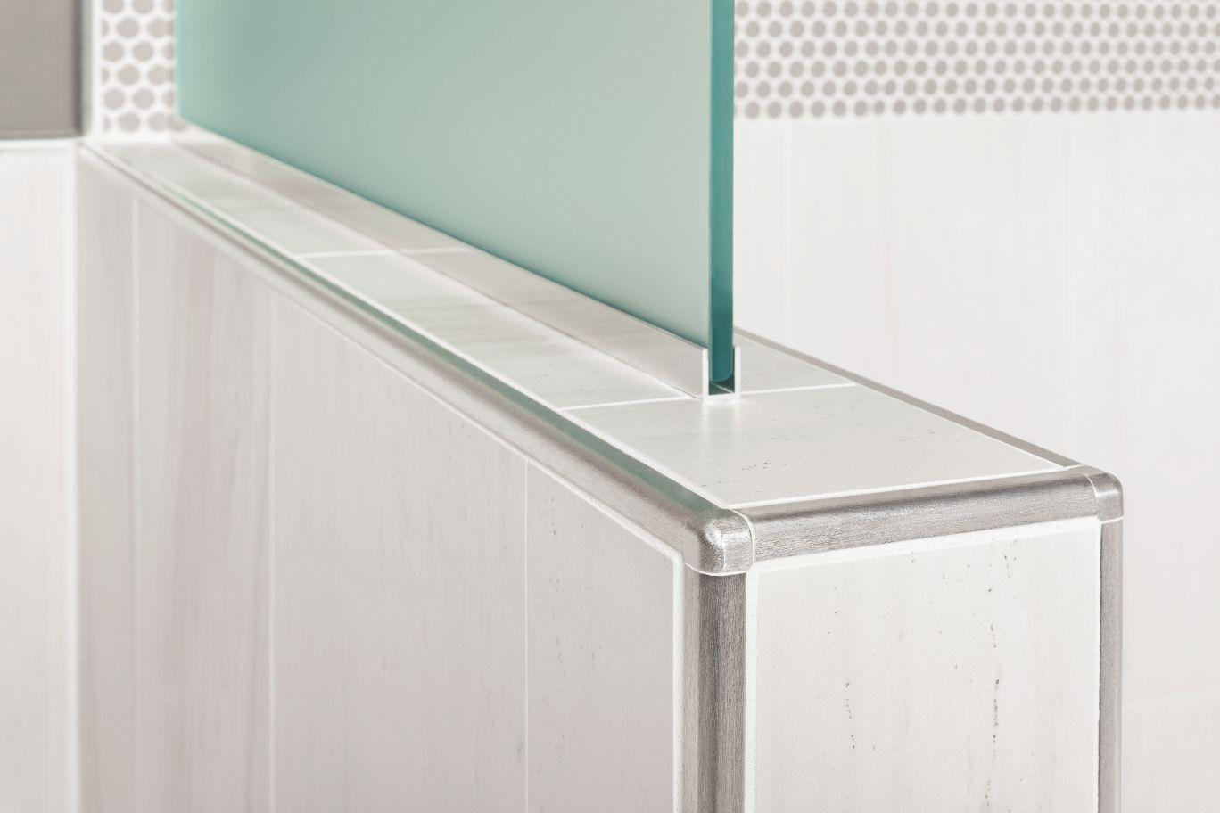 Schluter®RONDEC MBR Pinterest Tile trim, Bath and