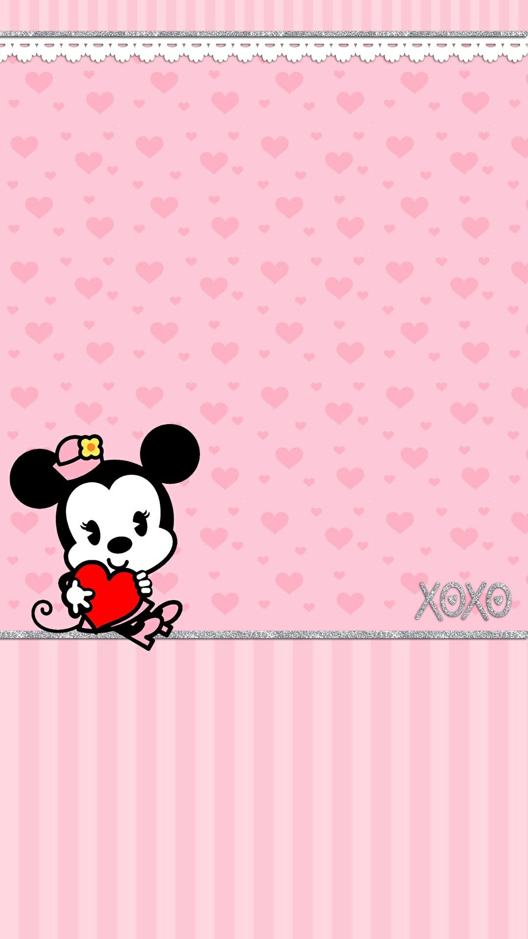 Wallpaper iphone minnie mouse - Iphone Wall Mm Love Tjn