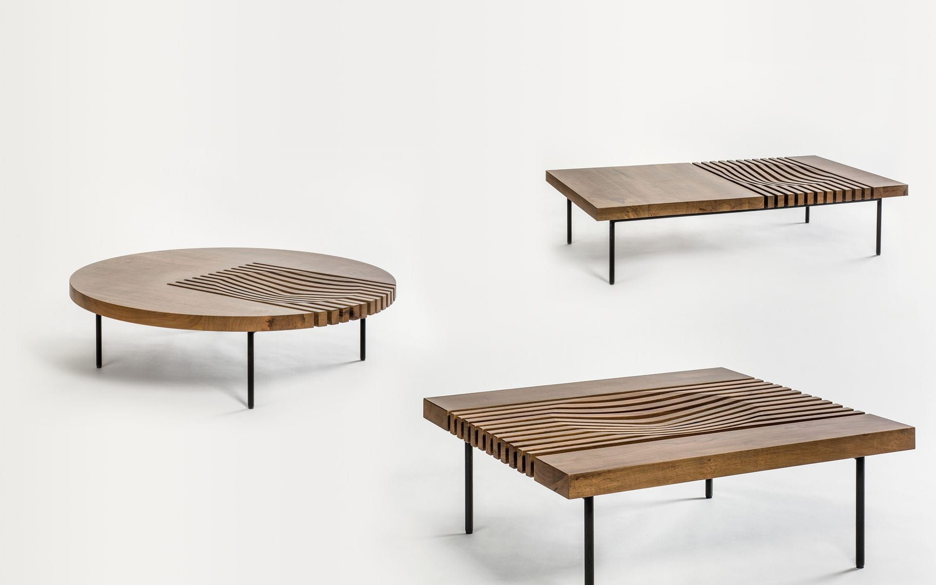 Coffee Table Rectangular Contemporary Metal Izzy By Marconato Maurizio