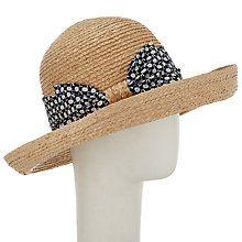 9348d37493805 Buy John Lewis Bow Detail Garden Sun Hat