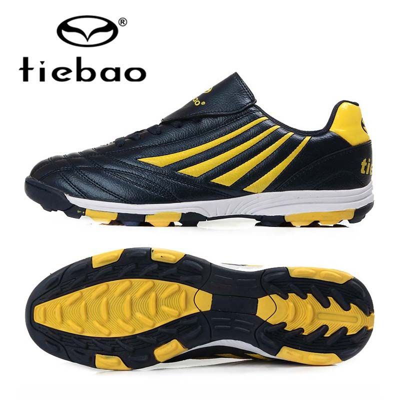 3c481d67b41 TIEBAO Professional Soccer Shoes TF Turf Rubber Soles Athletic Training Sneakers  Men Football Boots Size 38-44 Chuteiras Futbol