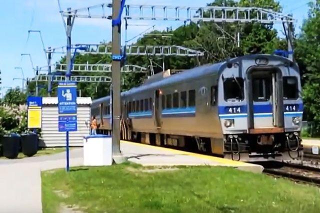 Deux-Montagnes, Quebec - QC - AMT railway station-gare