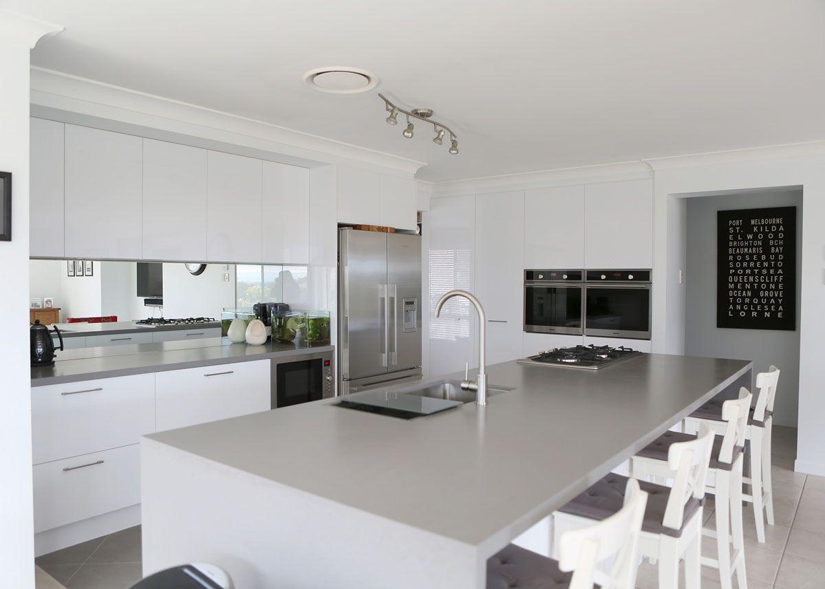6 4003 Sleek Concrete™ James Kitchens Nerang Gold Coast Fascinating Kitchen  Design Gold Coast Review