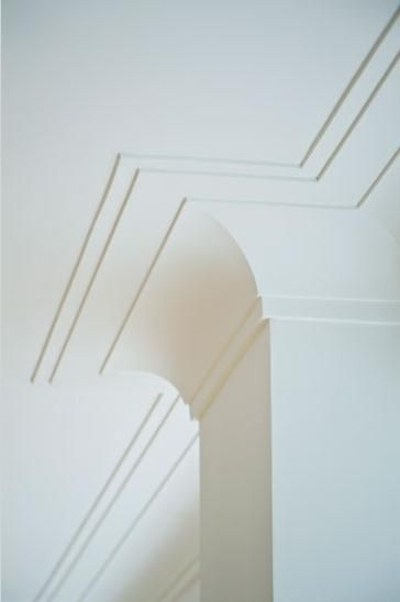 Latest This is another example of a cove style crown moulding but with a double layer of buildup on the ceiling For Your House - Style Of square crown molding Simple Elegant