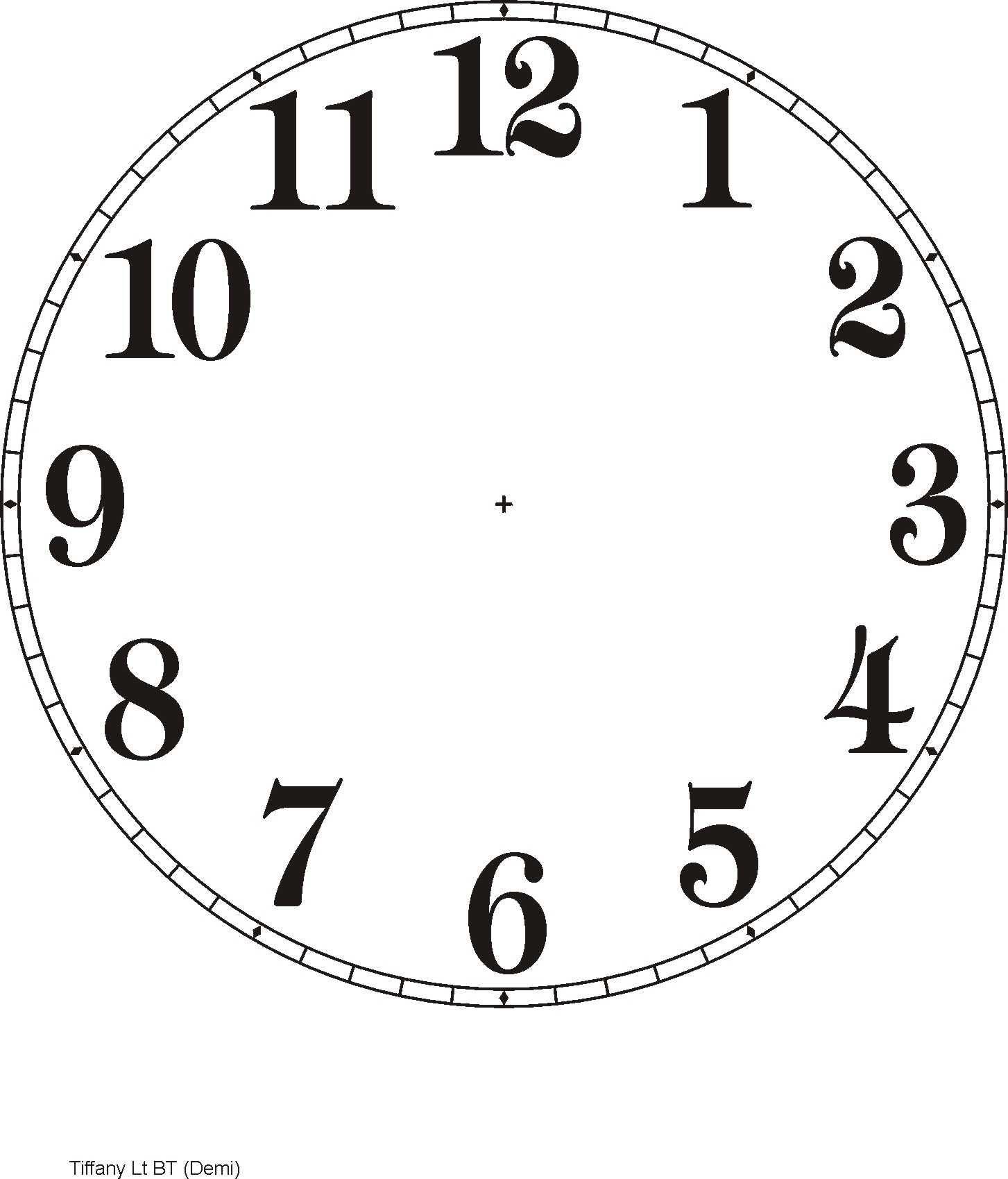 Medium Of Fancy Clock Faces