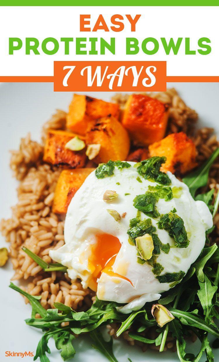 Easy Protein Bowls 7 Ways