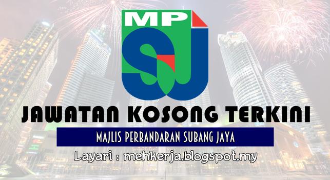 Jawatan Kosong di Majlis Perbandaran Subang Jaya (MPSJ
