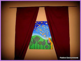 Rapunzel Party decorations