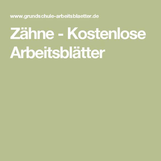 Berühmt Zahntypen Arbeitsblatt Zeitgenössisch - Mathe Arbeitsblatt ...