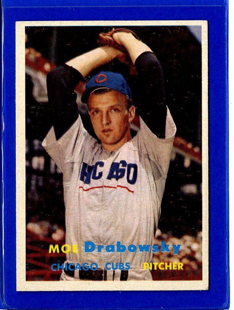 1957 Topps Set Break # 84 Moe Drabowsky EX-EXMINT K31755