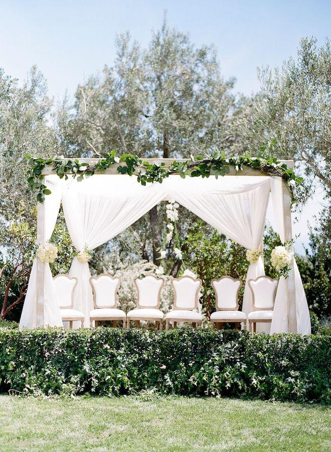 NURIT AND ADAM'S ELEGANT IVORY AND GREEN GARDEN WEDDING