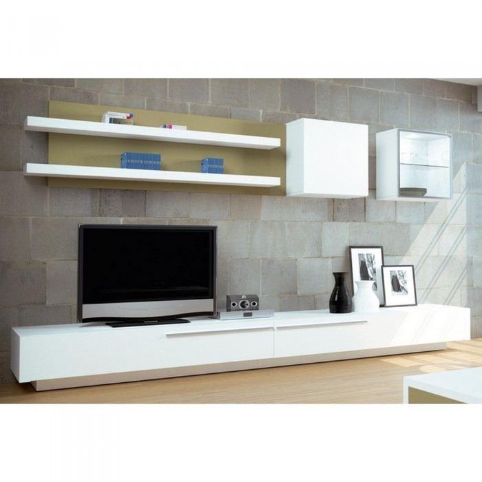 Inspirant Meuble Tele Bas Décoration Française Pinterest - Meuble tv blanc laque pas cher pour idees de deco de cuisine