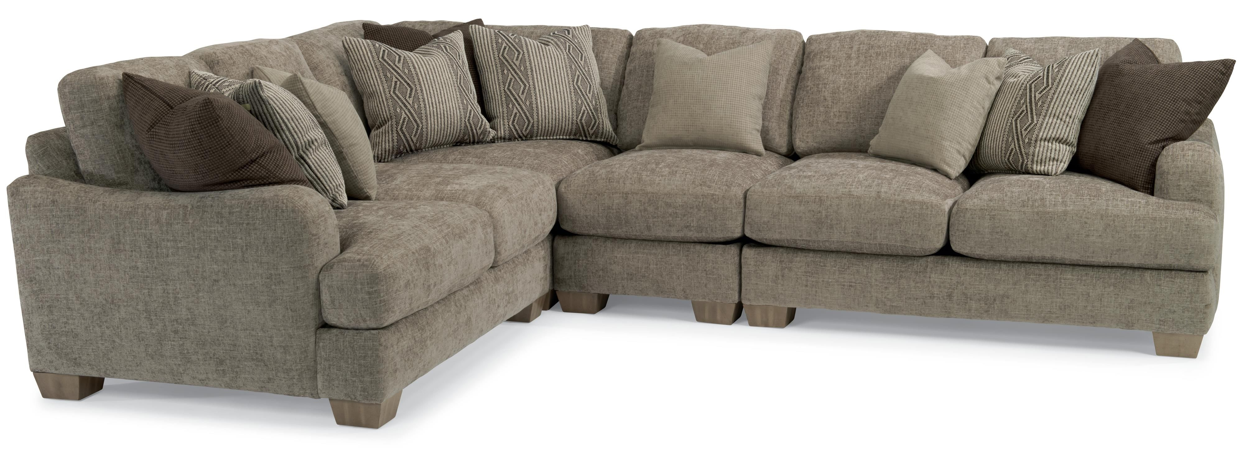 Vanessa Sectional Sofa By Flexsteel Sectional Sofa Cheap Living Room Sets Living Room Sectional