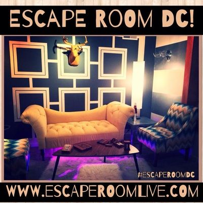 Washington Dc S Real Escape Room Escape Room Live Dc Escape Room Real Escape Room Room