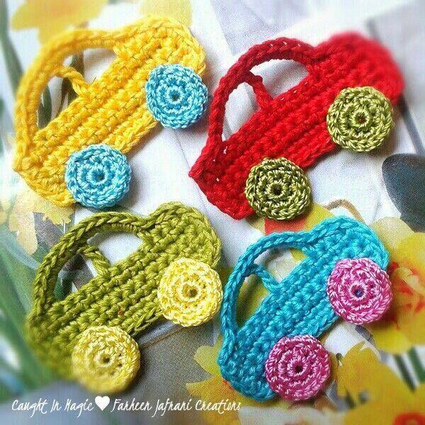 Crochet pattern for a car   Crochet Patterns   Pinterest   Tejido ...