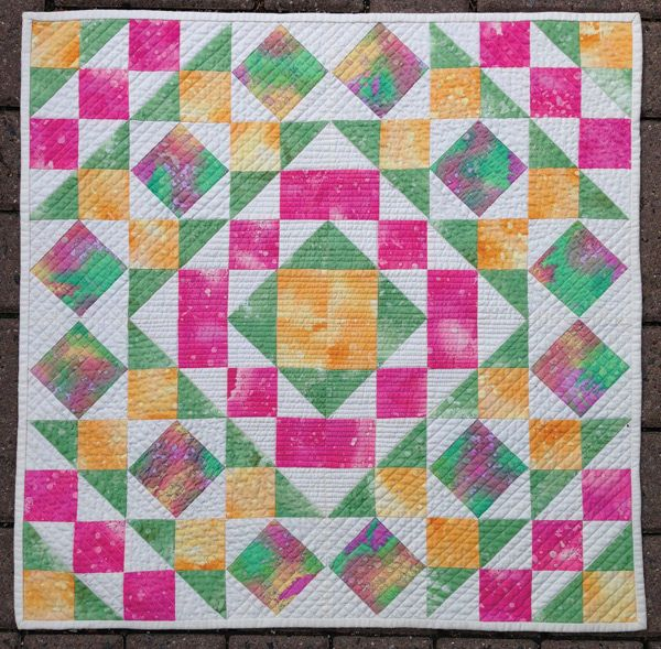 Penny Candy – Mini Quilt | Aiming for Accuracy Pattern Co.