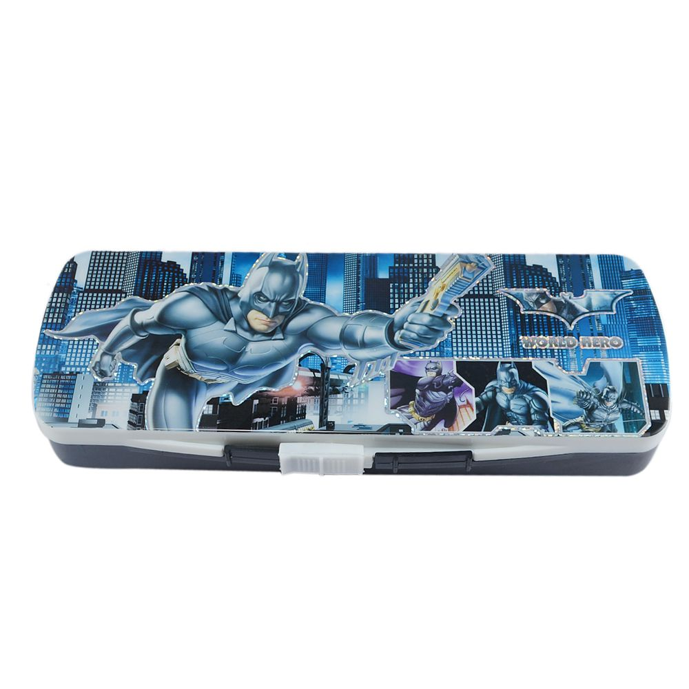 Saamarth Impex Batman Theme Based Black Color Pencil Box/Case SI-4606  #pencil #pen #box #pencilcase #pencilbox #stationery #accessories #school #student