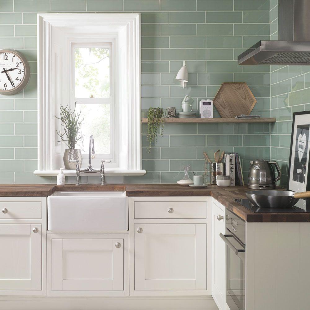 Aquarelle 300x100 Pistachio Green Tiles in 2020 Green