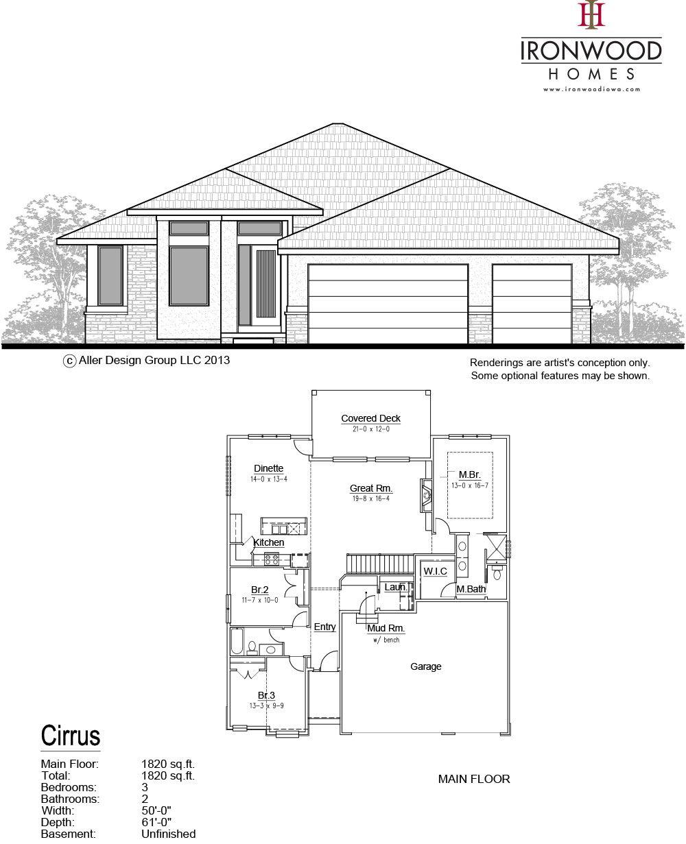 Lancer Floor Plan Sheet