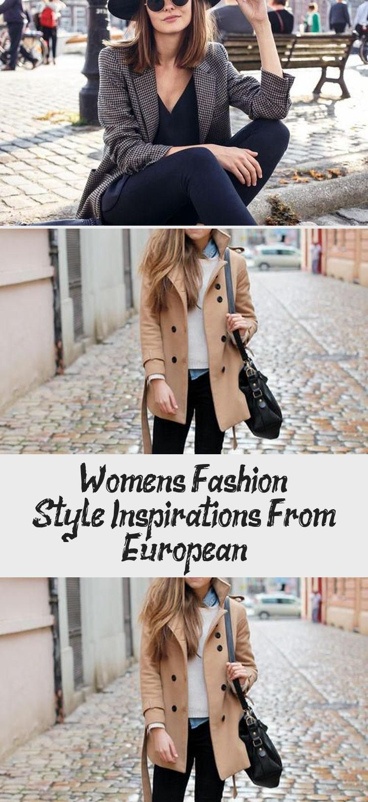 European styles for women