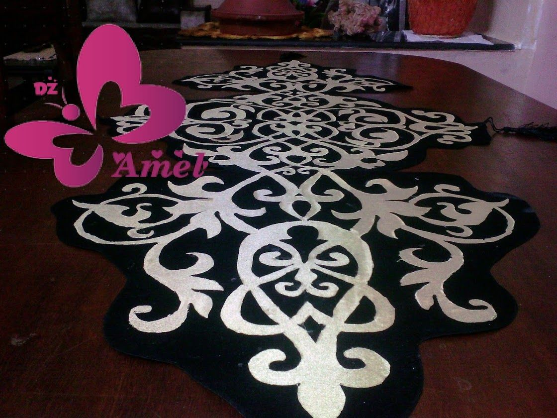 مجموعة مفارش تركية ولا أروع Crafts Lasercut Design Handmade
