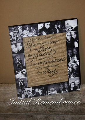 6811b4002015 Picture Frame Photo Frame best friend Gift by InitialRemembrance ...