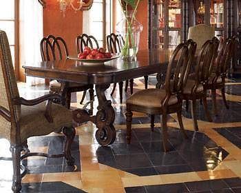 Thomasville Furniture Ernest Hemingway Anselmo Rectangular Dining Table 44821 Thomasville Furniture Rectangular Dining Table Dining Table