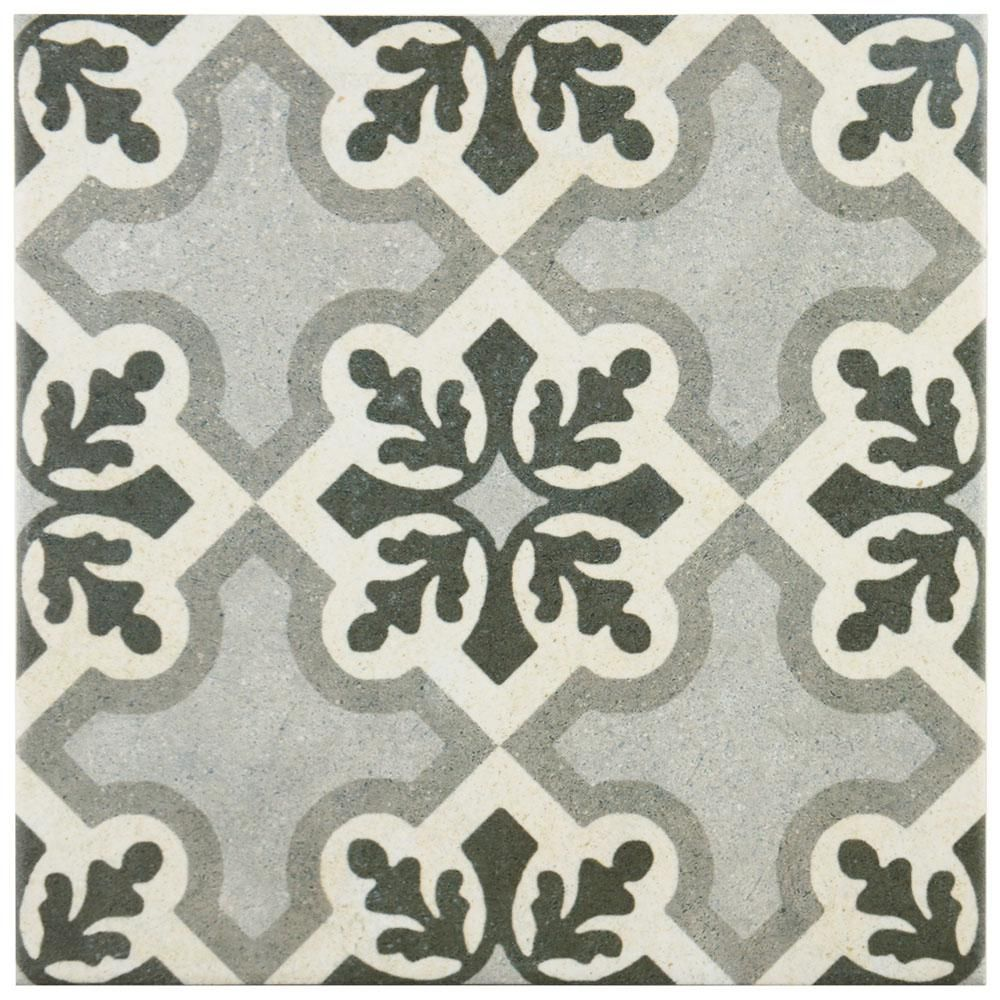 9 von 7 küchendesign merola tile vintage ruzafa encaustic  in x  in porcelain