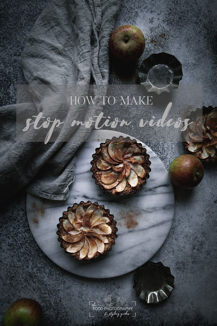 How to create a stop motion video the food photography