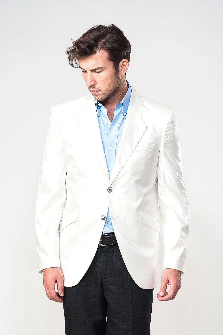d06354ff6fcc0 White Blazer Men Dewberry off-white blazer | mens looks | Off white ...