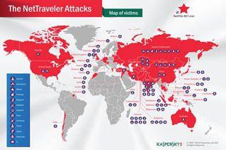 Kaspersky Lab pone al descubierto operación 'NetTraveler'