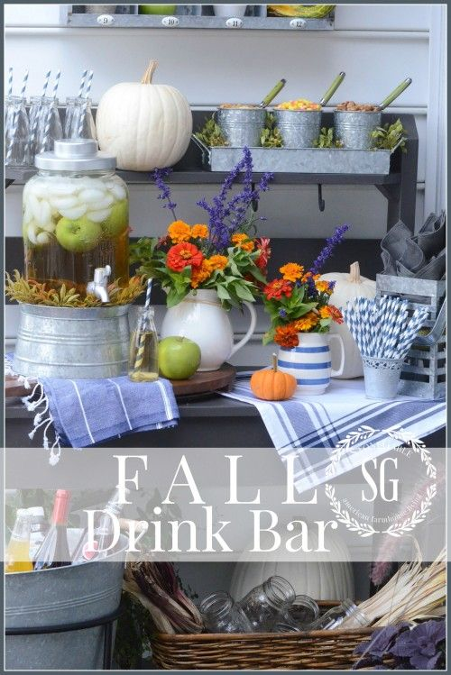 FALL DRINK BAR - StoneGable