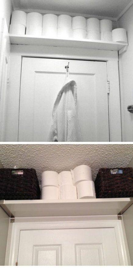 Bathroom small ideas storage space saving tiny house 32+ super Ideas
