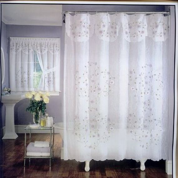 Bathroom Window Valance Ideas | Luxury Bathroom Window Curtains ...