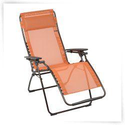 Lafuma Futura Zero Gravity Chair Outdoor Chaise Lounge Zero