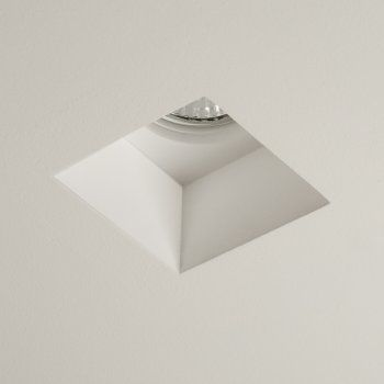 1253002 Blanco Square Plaster Downlight Recessed Lighting Interior Lighting Downlights