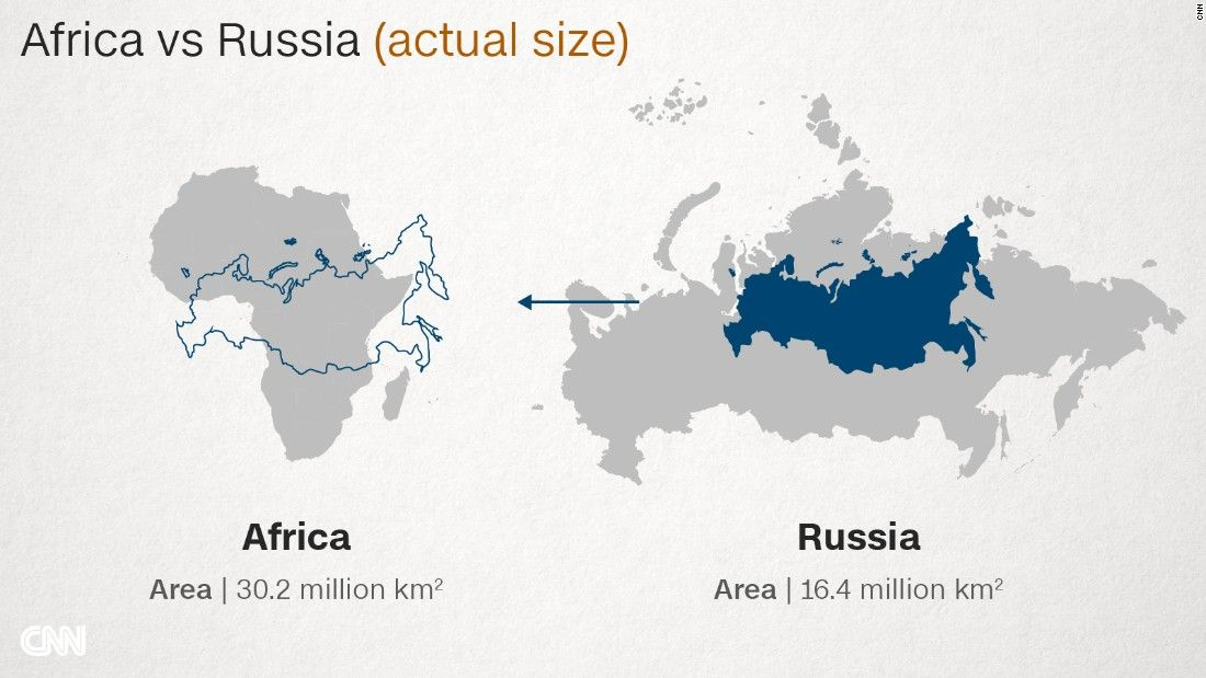 Time Zones In Russia Map.Why Do Western Maps Shrink Africa Russia Pinterest Map Africa