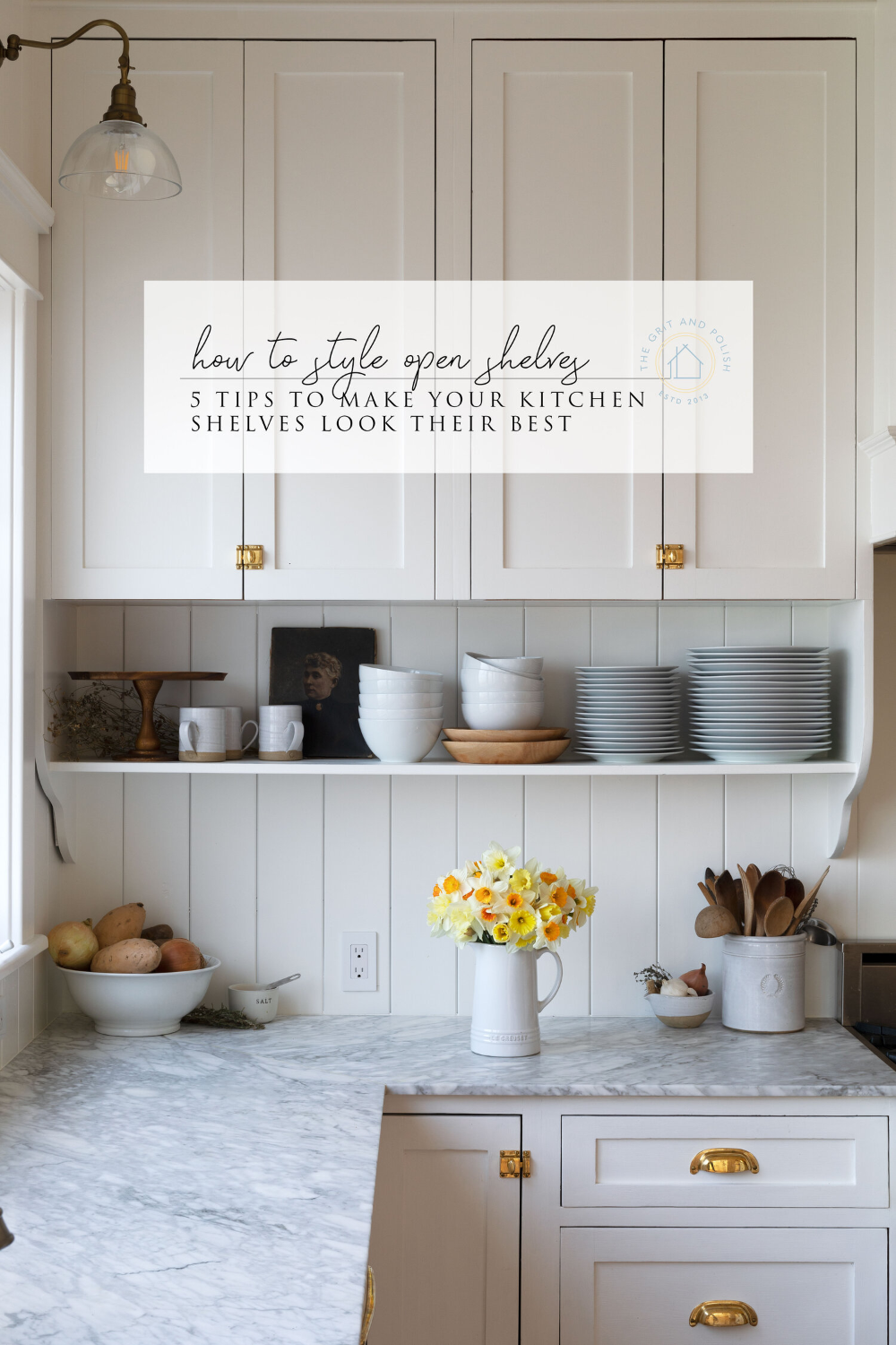 Our Best Tips For Styling Open Shelves In The Kitchen In 2020 Open Kitchen Cabinets Kitchen Remodel Kitchen Design Small